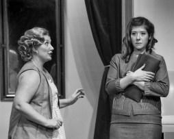 Lezlie Jackson Acker as Olga, LDT as Mary Haynes (Photo Credit: Eric Bjerke, Sr.)