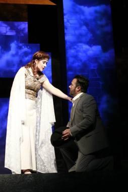 LDT as Cordelia, Daniel Gately as Kent (Photo Credit: Kristina Stamper)