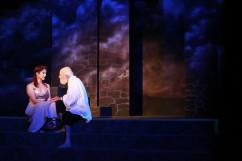 LDT as Cordelia, Jere O'Donnell as Lear (Photo Credit: Kristina Stamper)